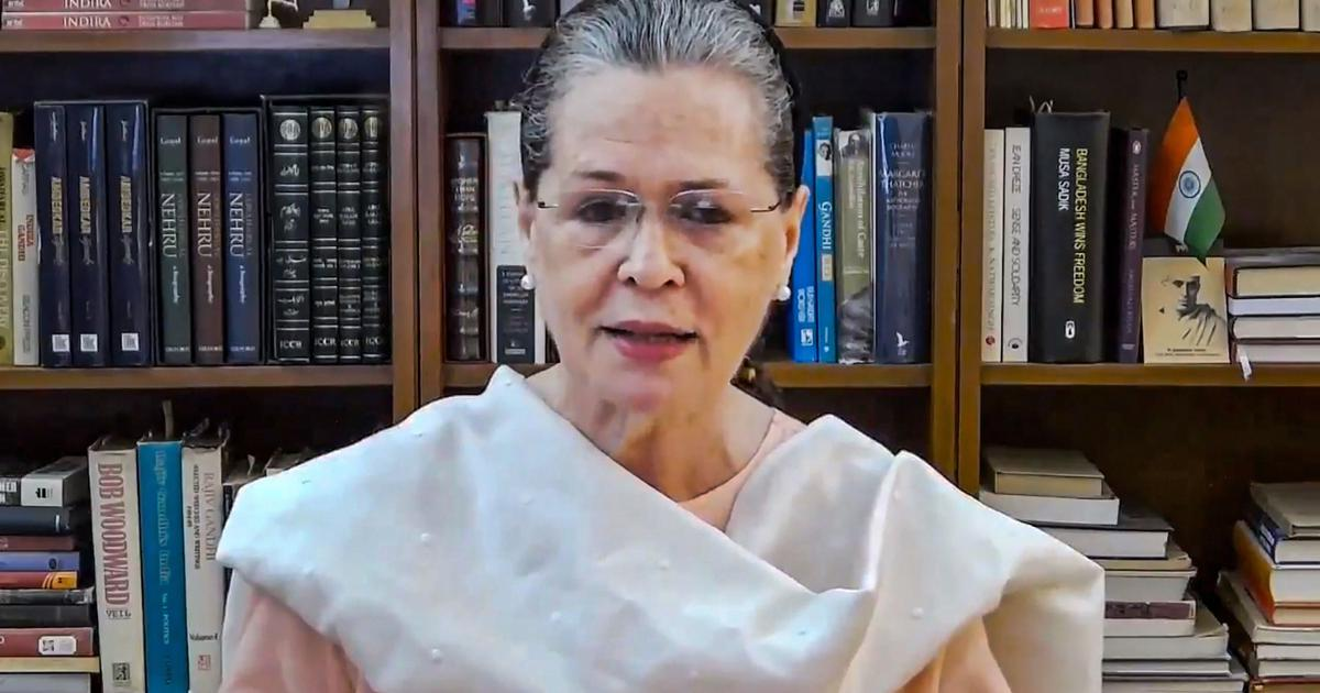 Sonia Gandhi to continue as interim Congress president till election of her successor