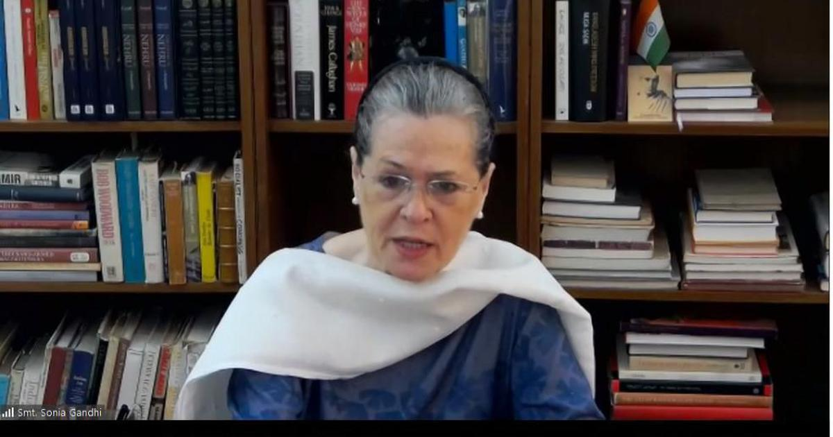 Coronavirus: Sonia Gandhi asks PM Modi to continue free food supply to households for 3 more months