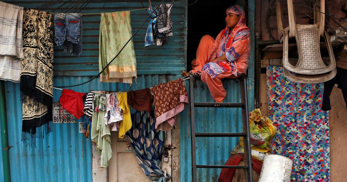 Amid coronavirus lockdown, an eerie silence has replaced Dharavi's characteristic industrial buzz