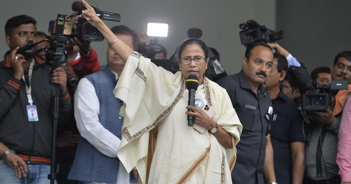 West Bengal: BJP workers attack each other and then blame Trinamool, claims Mamata Banerjee