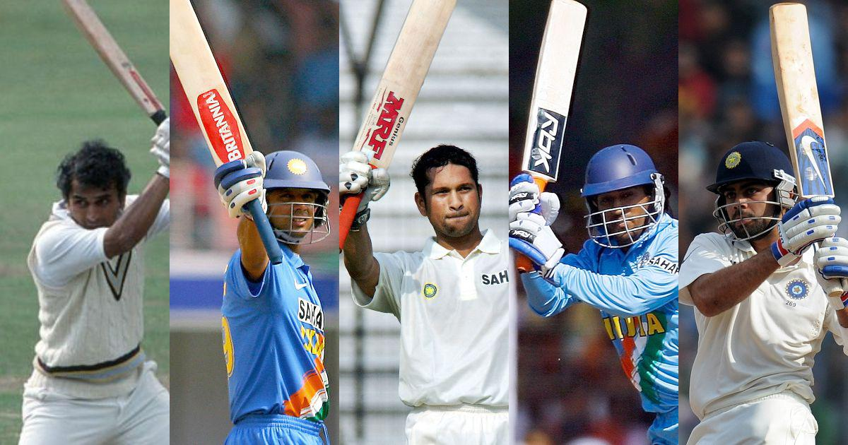 From Gavaskar to Kohli: The evolution of Indian cricketers' relationship with their bats