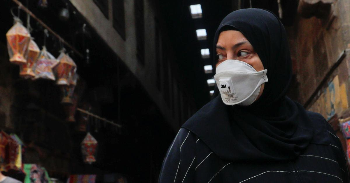 For years, the West criticised Muslim women's face veils. Now, we're all masked
