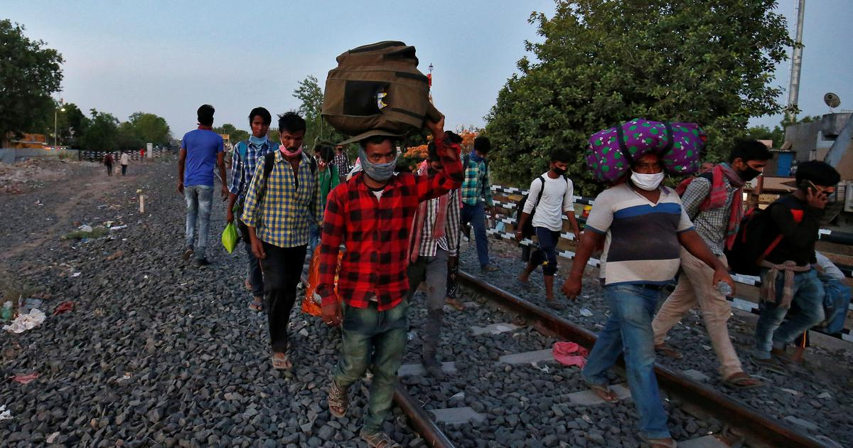 Covid lockdown: Over 8,700 people, many of them migrant workers, died along railway tracks in 2020
