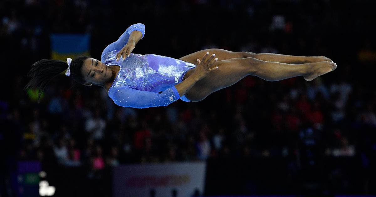 Pause, rewind, play: The incredible Simone Biles and the four gravity-defying skills named after her