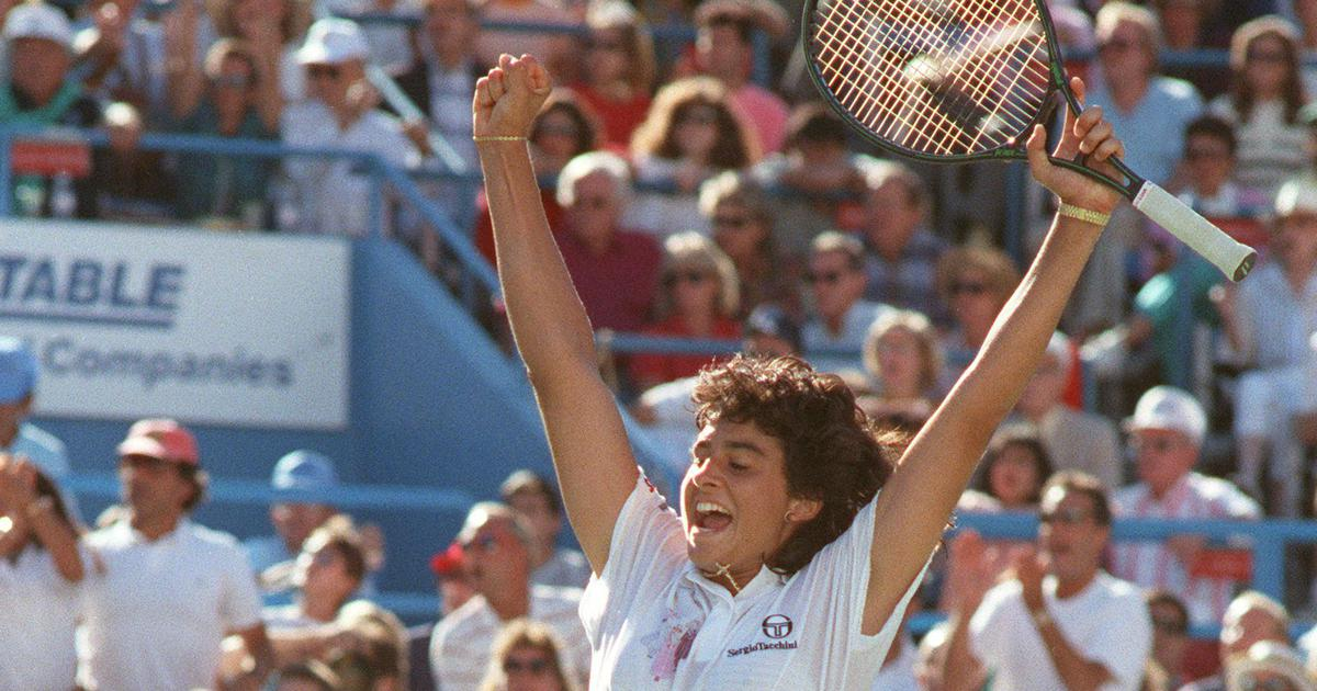 Pause, rewind, play: Relive Gabriela Sabatini's 1990 US Open triumph when she defeated Steffi Graf