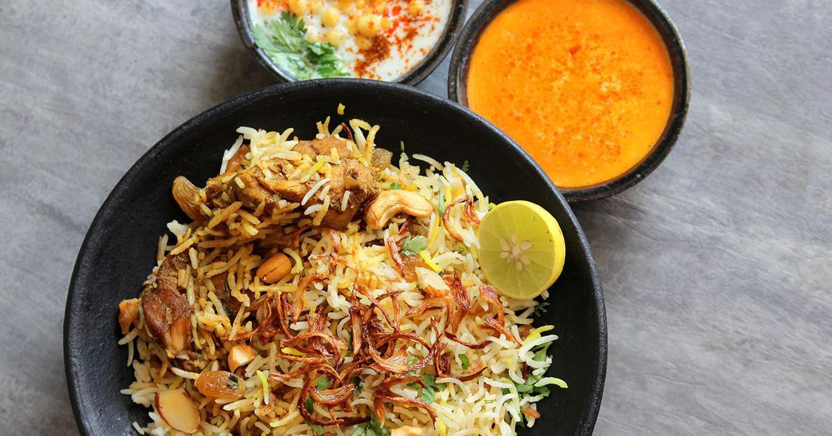 Hyderabadi Murgh Dum Biryani