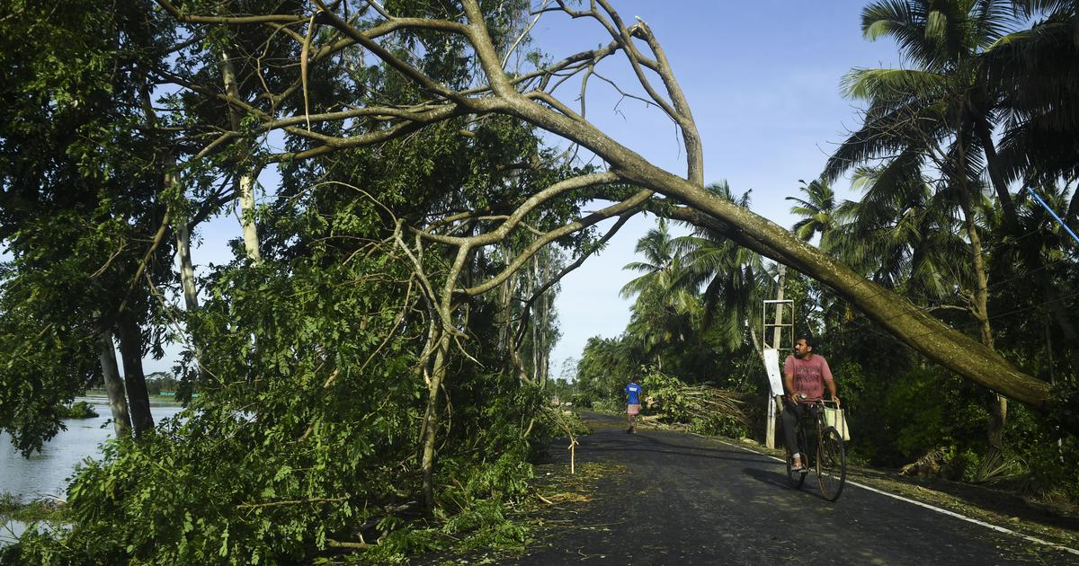 In photos: Cyclone Amphan leaves trail of destruction in West Bengal and Bangladesh