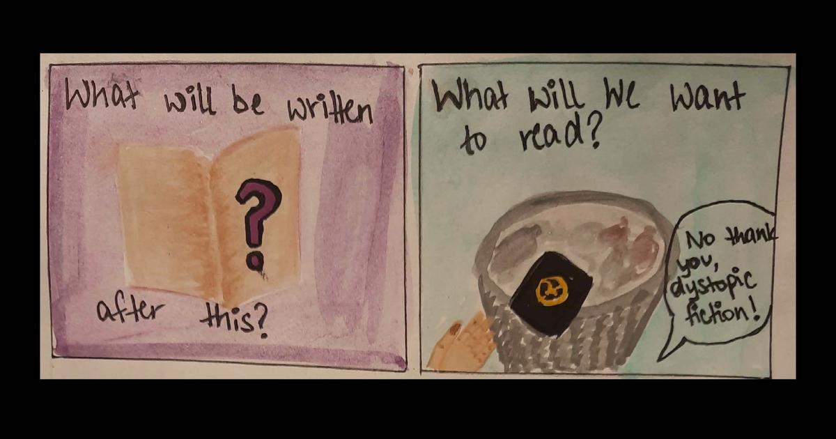 What (and how) to read and write without guilt during a pandemic: A graphic narrative