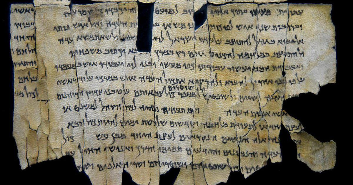 How my team and I accidentally discovered text on the Dead Sea Scrolls