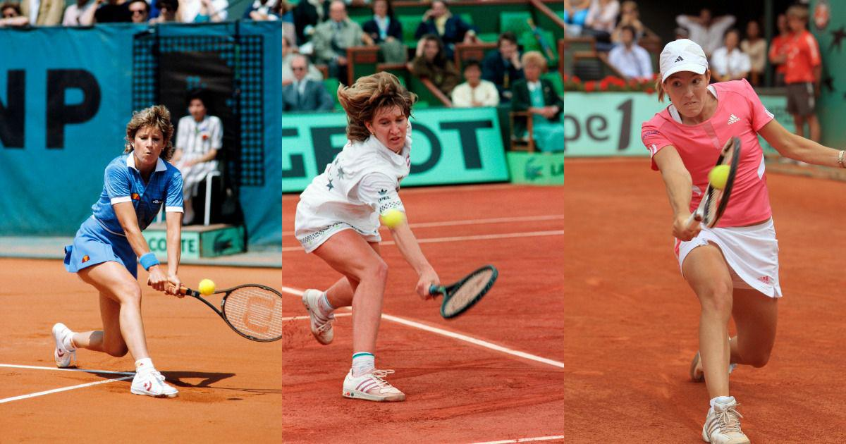 Clay champions: From Evert's dominance to Henin's hat-trick, the best WTA players on the red dirt
