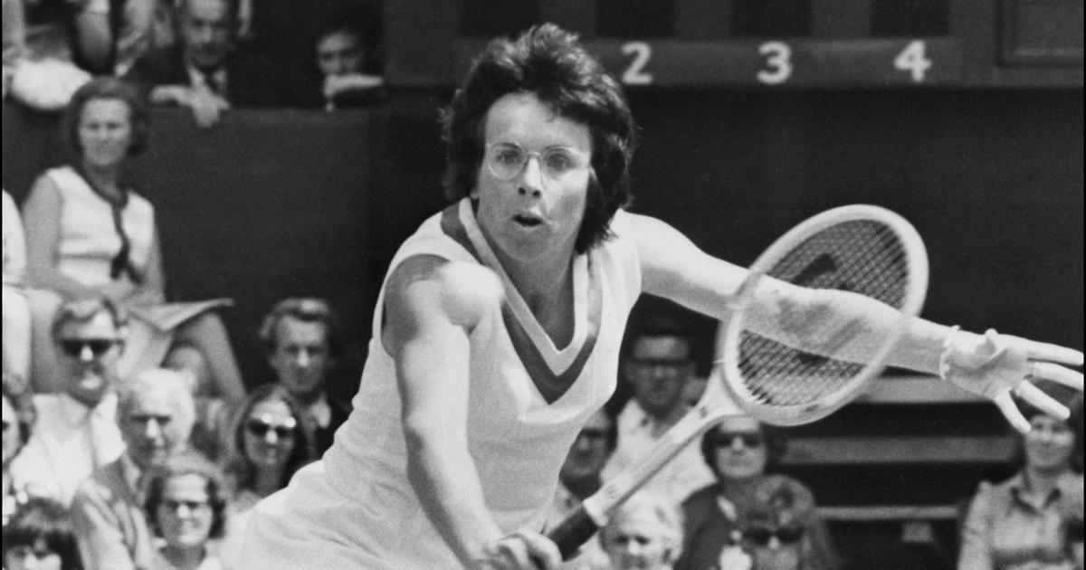 Pause, rewind, play: An on-court star as well, the best of Billie Jean King at the US Open