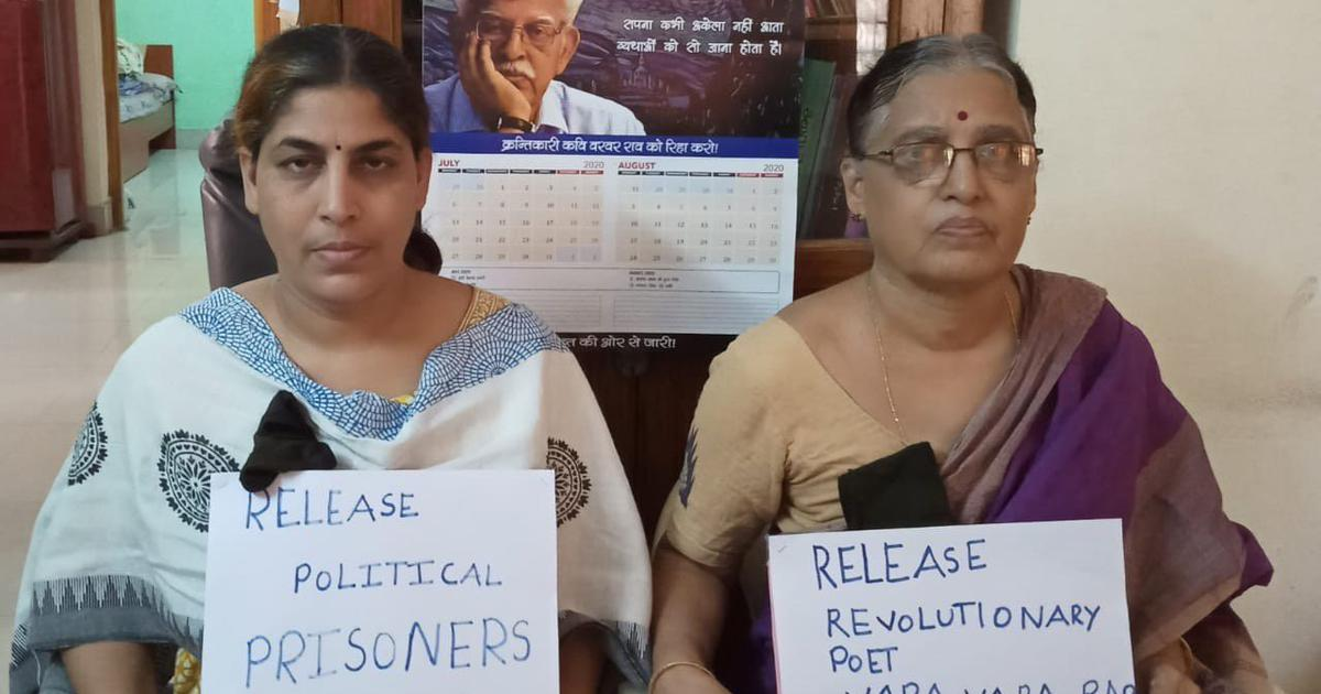 By ignoring health of jailed poet Varavara Rao, state is imposing capital punishment without trial