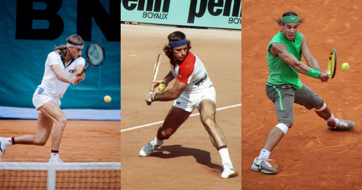 Clay champions: From Borg's brilliance to Nadal's dominance, the best ATP players on the red dirt