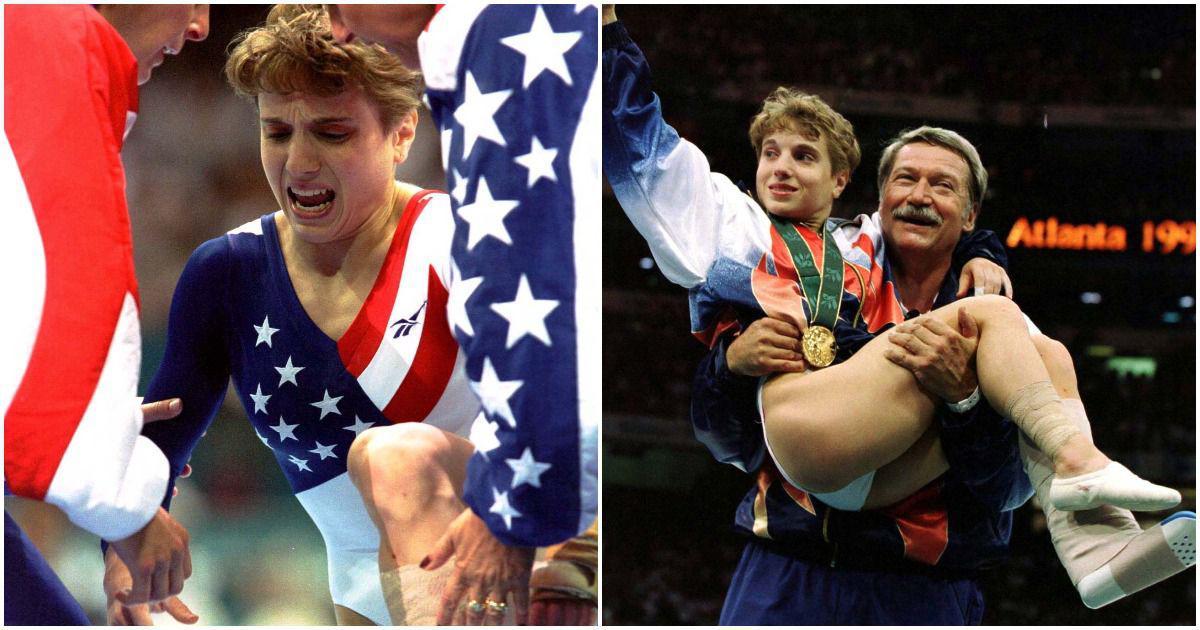 Pause, rewind, play: A heroic landing with an injured ankle – Strug's golden moment at Atlanta 1996