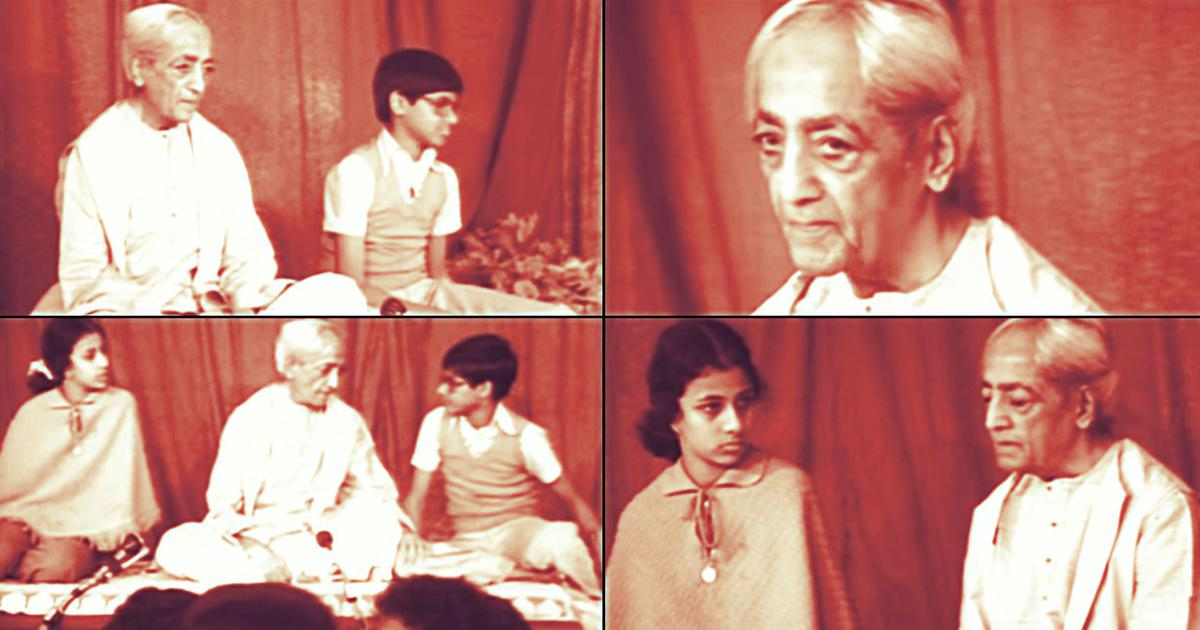 How J Krishnamurti's philosophy of education was channelled into Rishi Valley and other schools