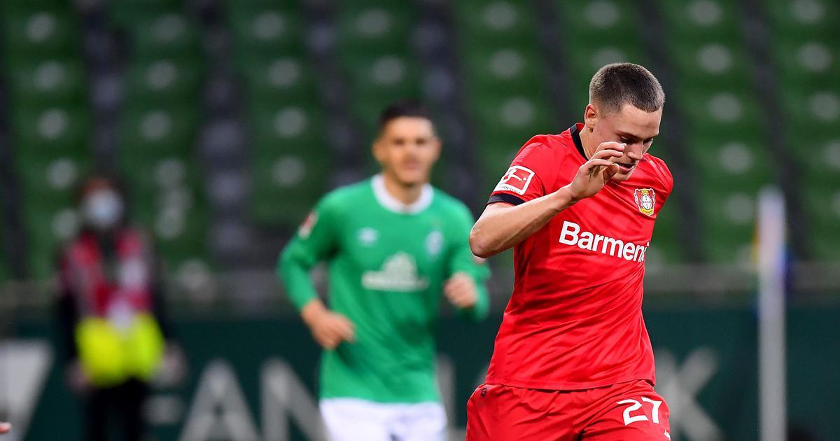 Football: Bayer Leverkusen's Florian Wirtz becomes youngest goal scorer in Bundesliga history