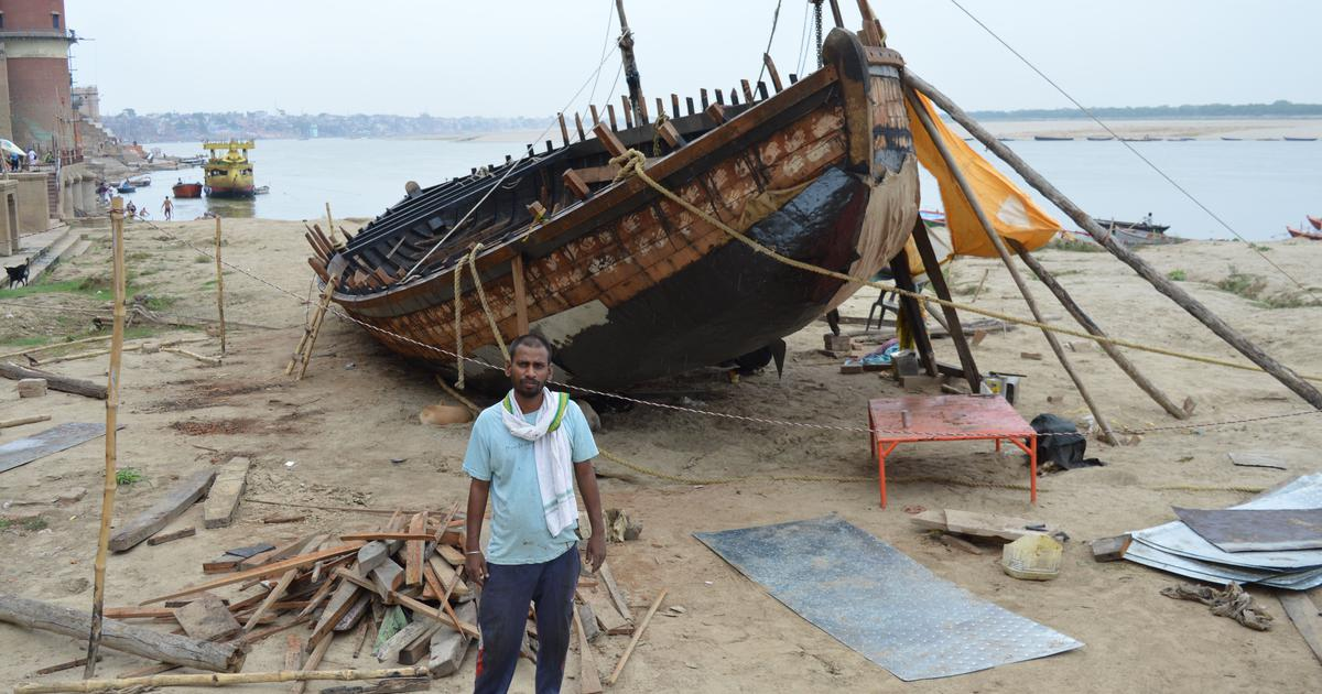 The boatmen of Banaras blame Prime Minister Modi for their lockdown losses. Here's why