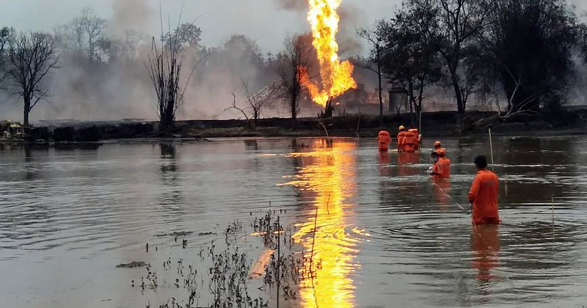 Assam: Three foreign experts injured after fire breaks out at OIL's Baghjan gas well