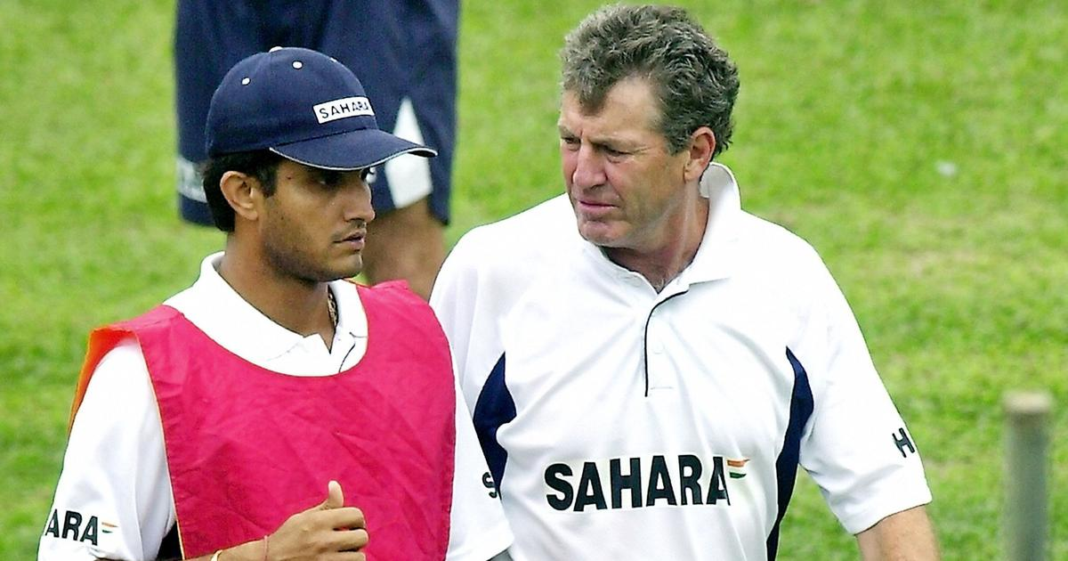 Pause, rewind, play: How captain Sourav Ganguly and coach John Wright revolutionised Indian cricket