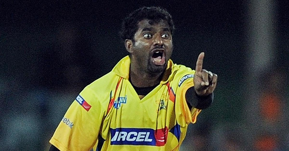 Chennai Super Kings is the best franchise I've played for, says Muttiah Muralitharan