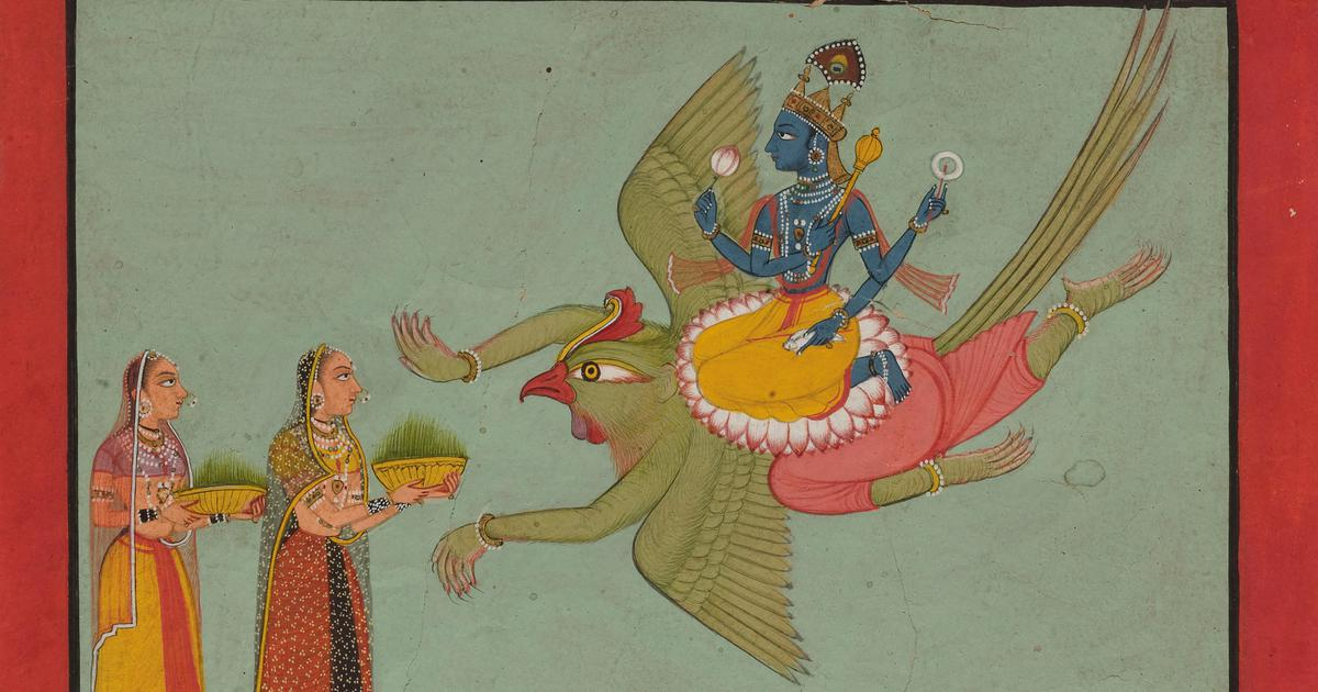Listen: Hindustani songs about the mythical garuda, associated with Vishnu and Krishna