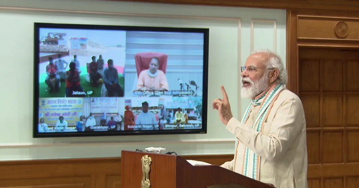 '600 deaths in Uttar Pradesh, over 1 lakh in four European countries,' says PM at jobs scheme launch