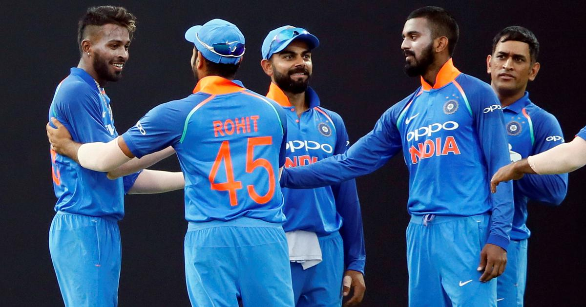Watch: 'Virat, Rohit, Dhoni don't like coming second' – Hardik delivers pep talk to young cricketers