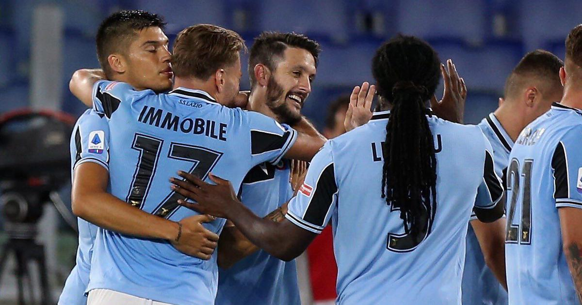 Serie A: Lazio get back on track in title race after comeback win over Fiorentina