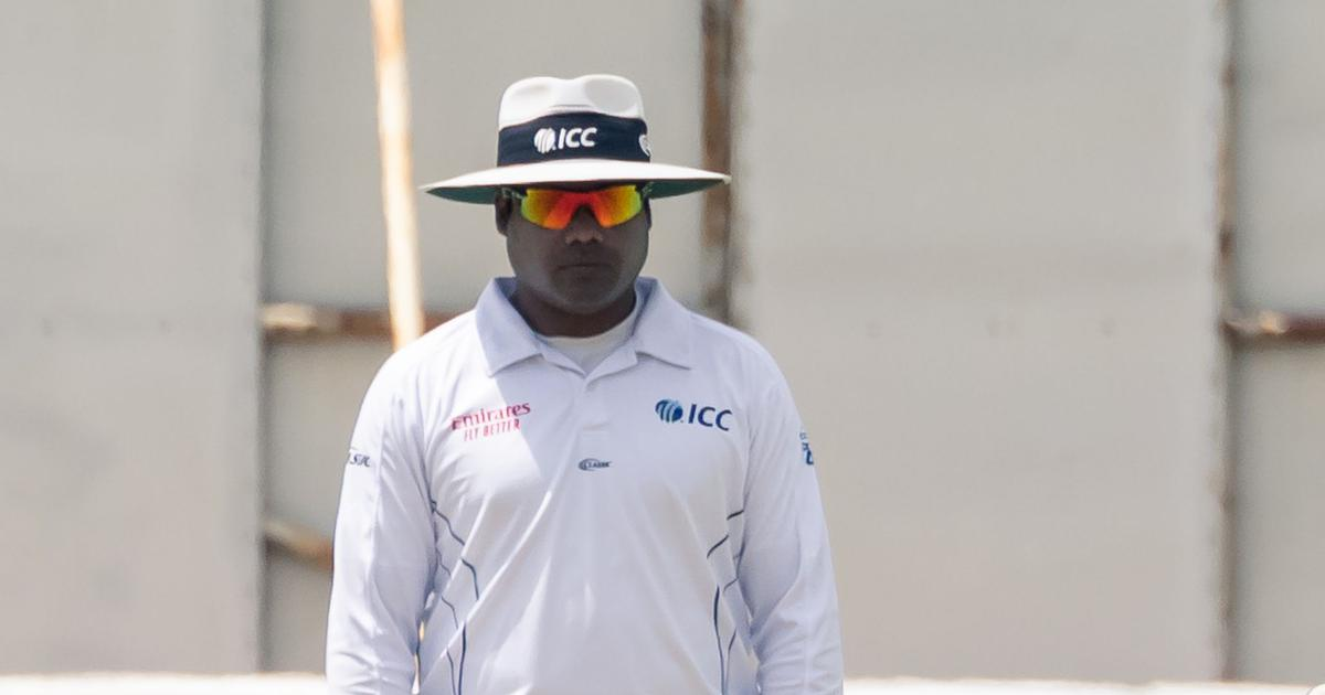 Cricket: India's Nitin Menon included in ICC Elite Panel of Umpires for 2020-'21 season