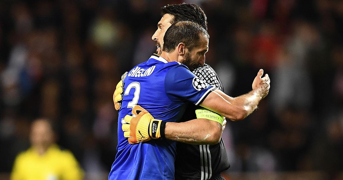 Football: Gianluigi Buffon, Giorgio Chiellini sign one-year contract extension with Juventus