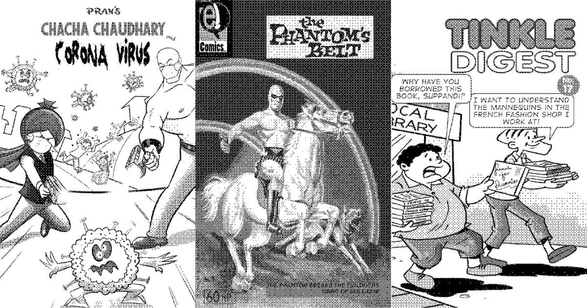 Comics were facing a squeeze in India. Has the pandemic opened the door to a revival?