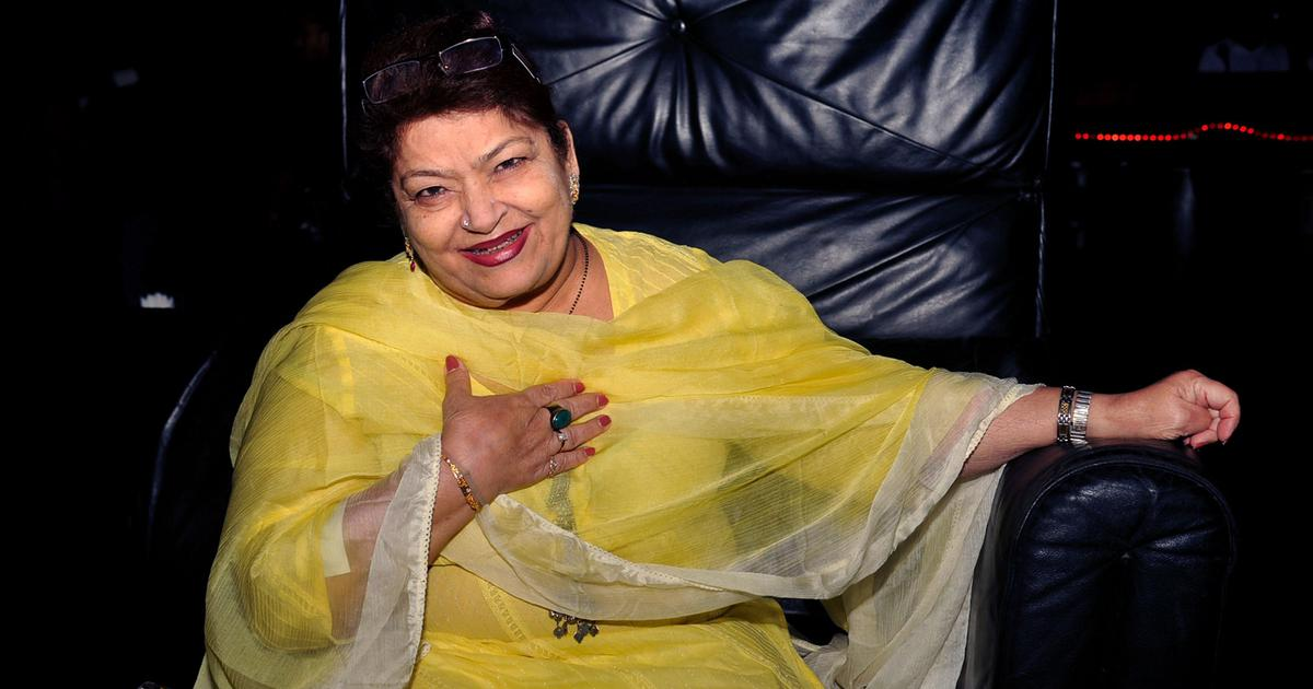 Saroj Khan (1948-2020): The choreographer extraordinaire who transformed Hindi film dance forever