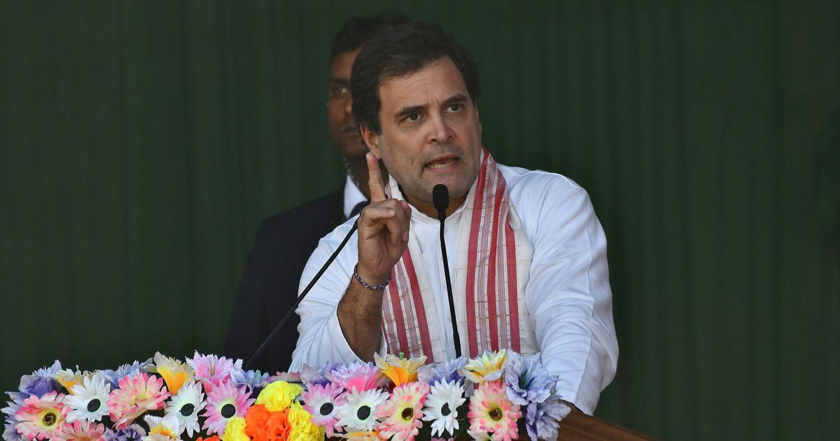 Rahul Gandhi says 'economic mismanagement' by Centre will destroy 'millions of families'