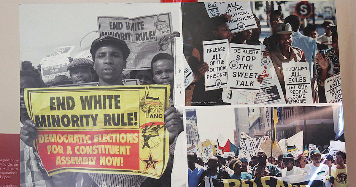 South Africa's anti-apartheid movement has lessons for White allies in America