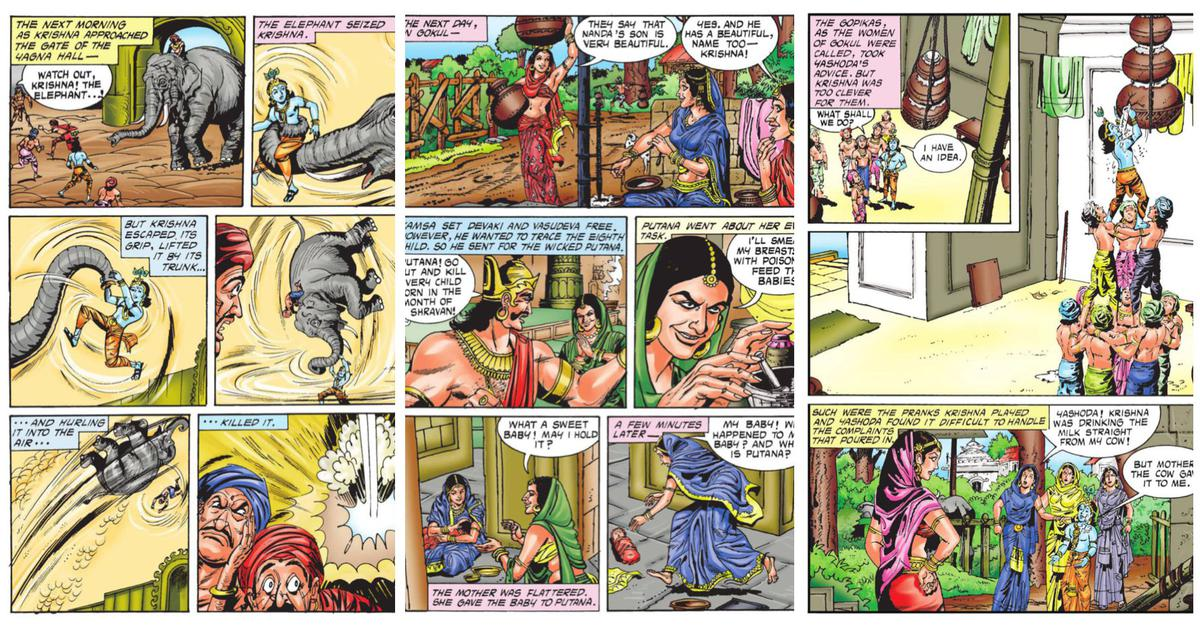 'Krishna': Remembering Anant Pai's iconic Amar Chitra Katha comic book published 50 years ago