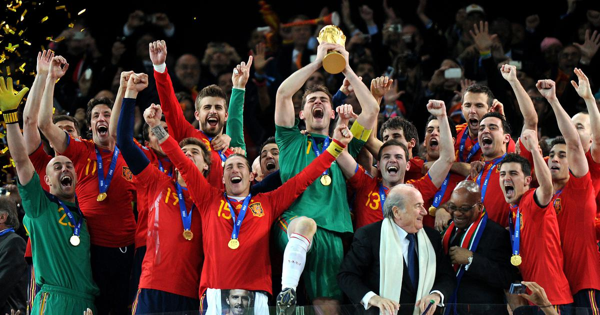 Pause, rewind, play: When Spain lived up to their potential and won their first Fifa World Cup