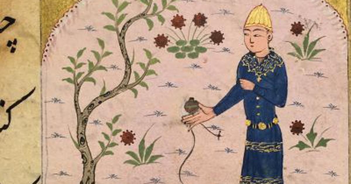 In a dictionary from 15th century India, illustrations of dolls, yo-yos and other playthings