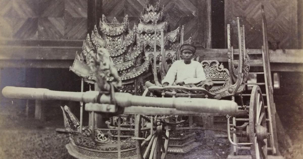 In a 19th-century Burmese album, a story of revenge, a failed coup and a long-forgotten prince