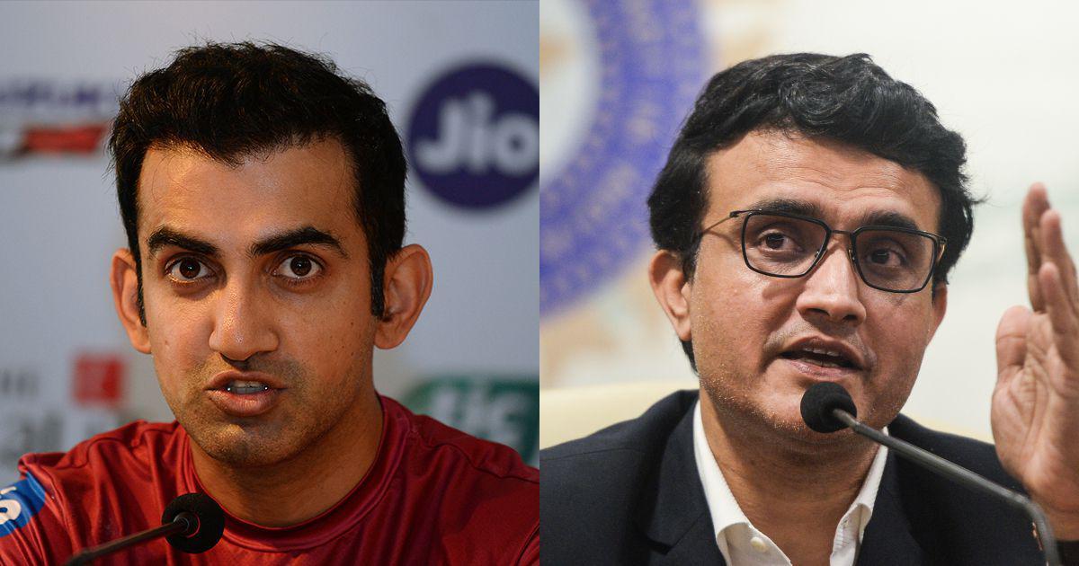 Will be good for India: Gautam Gambhir backs Sourav Ganguly's candidature for ICC chairman post