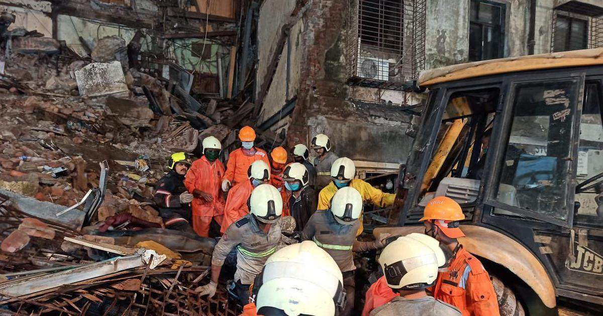 Mumbai: Six dead in two building collapses in Fort Area and Malad following heavy rain