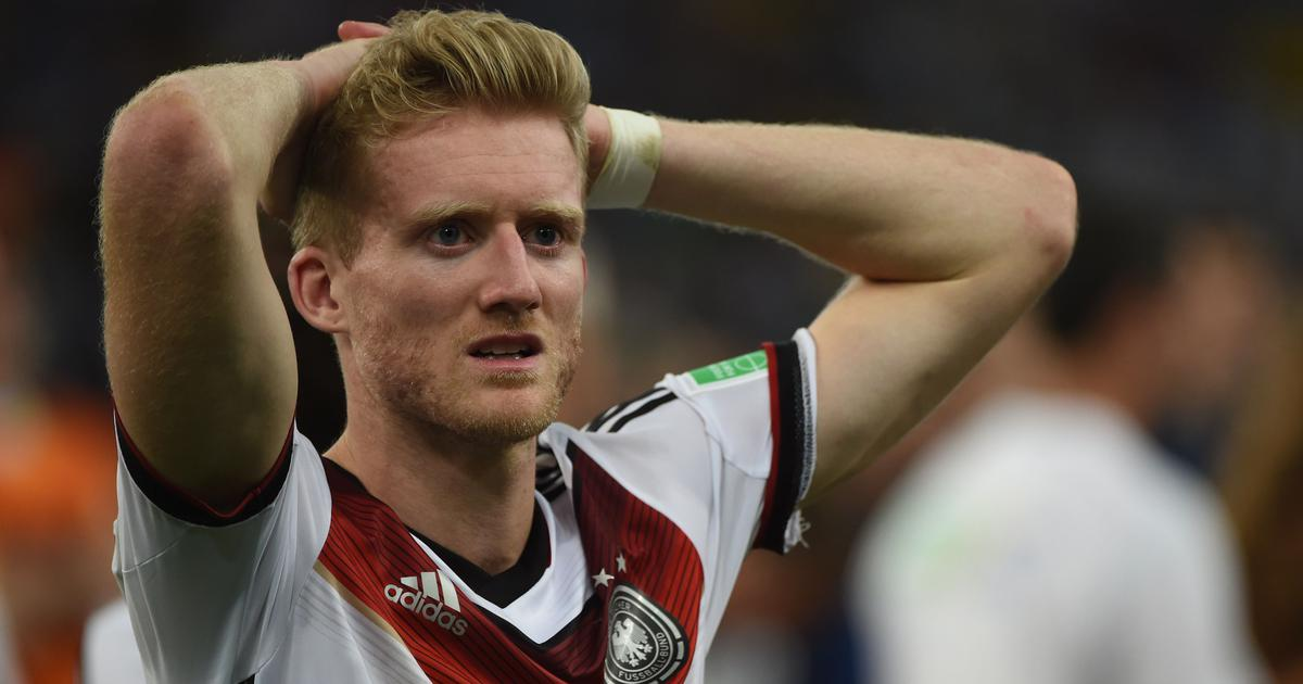 Football: Germany's 2014 World Cup winner Andre Schuerrle retires at 29