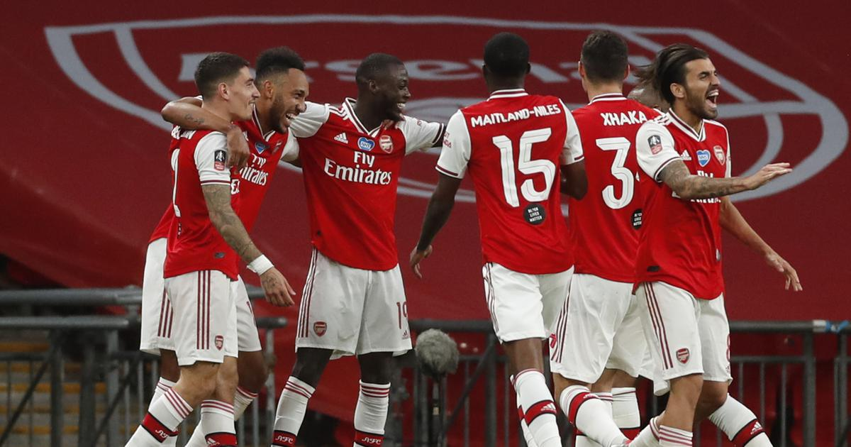 FA Cup: Aubameyang stars with brace as Arsenal defeat Manchester City to reach final