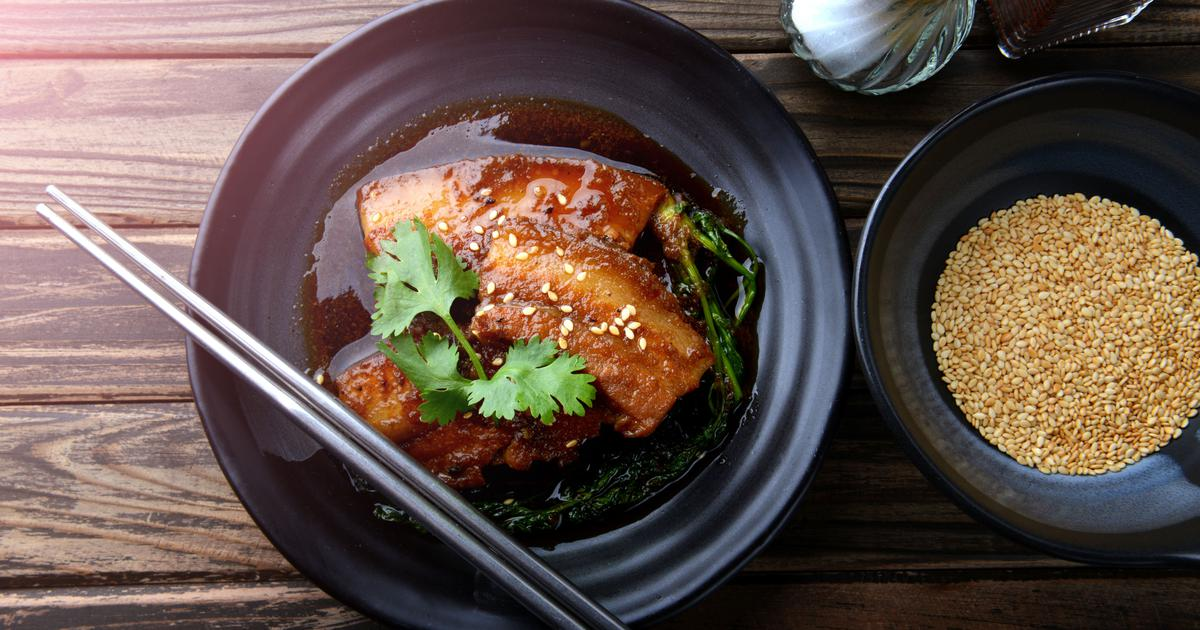 Braised Pork In Soy And Ginger