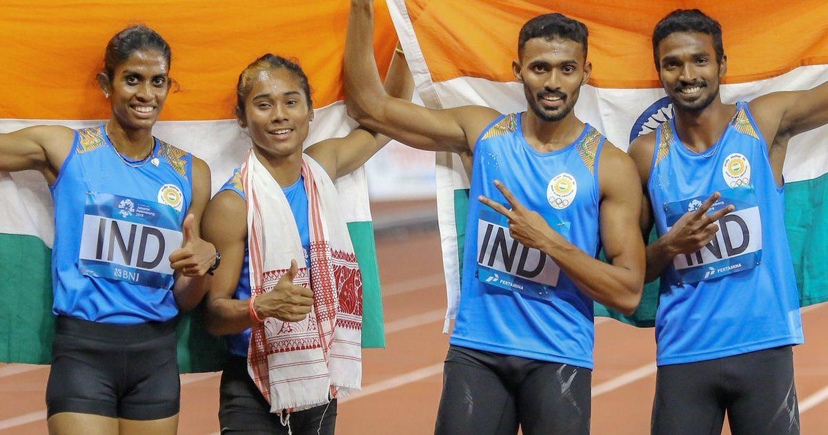 India's 4x400 mixed relay team Asian Games medal upgraded to gold after Bahrain athlete's doping ban