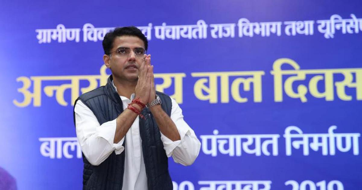 Rajasthan: Sachin Pilot, rebel MLAs get respite as HC orders status quo on disqualification notices