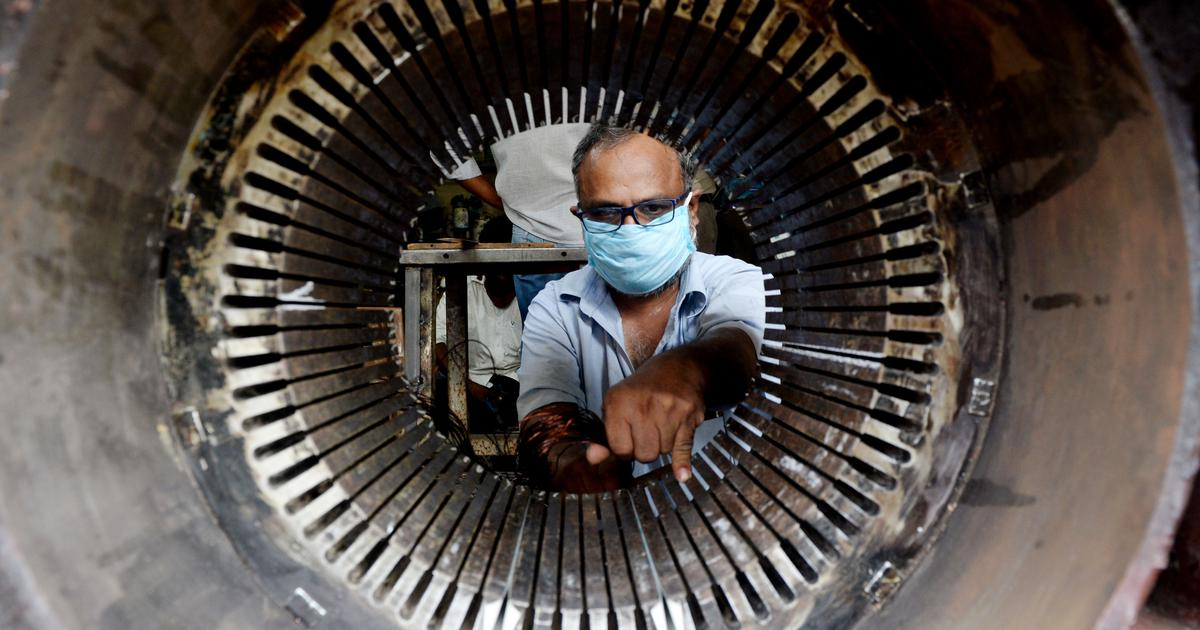 Why India's GDP contracting by 7.5% is earning some cheers – even as others ring alarm bells