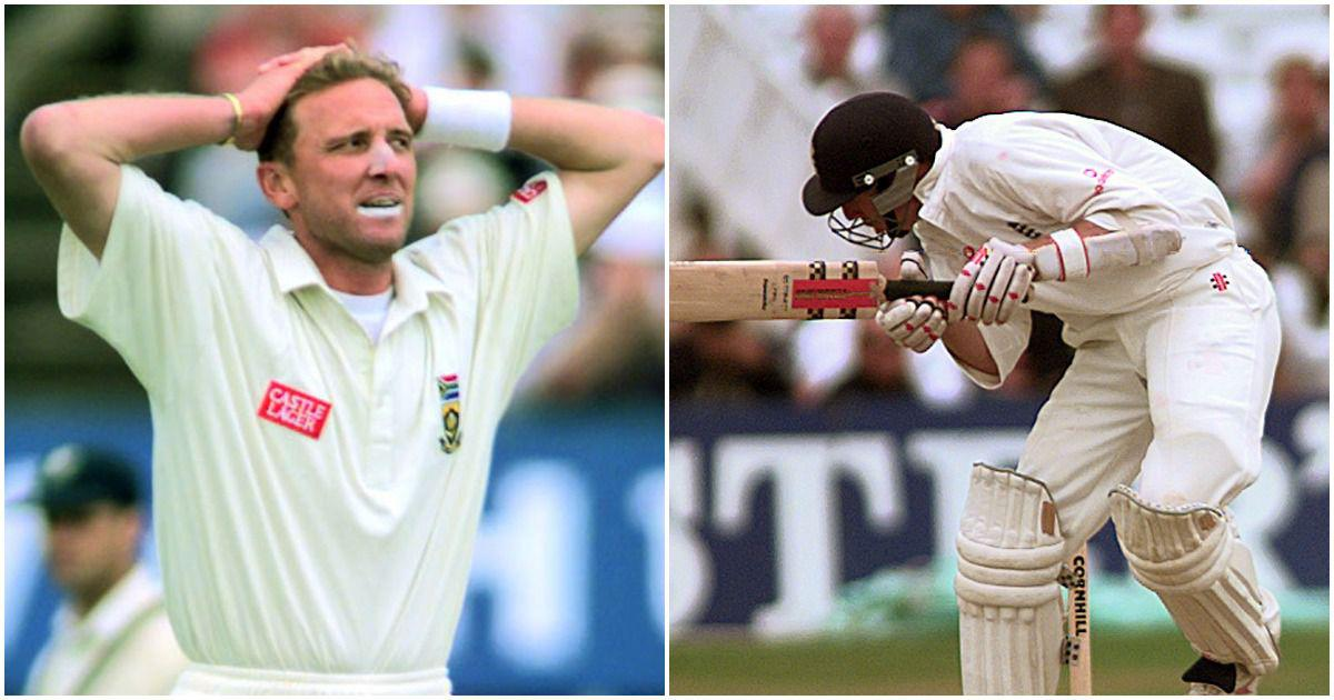 Pause, rewind, play: Michael Atherton vs Allan Donald, Nottingham 1998 – a battle to remember