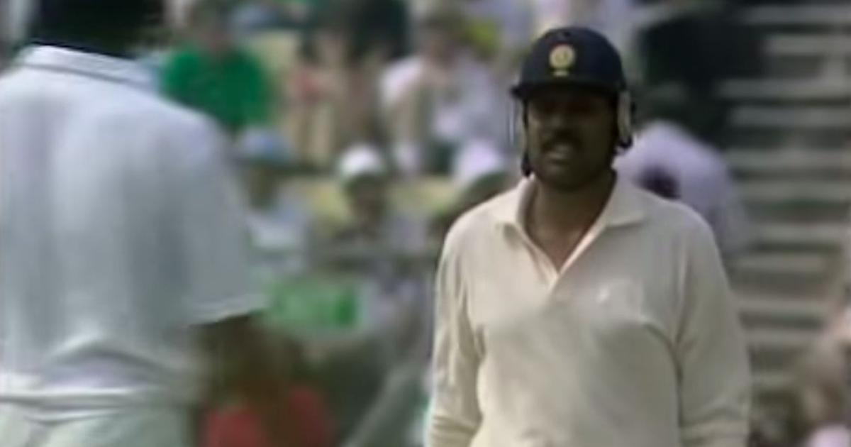 Watch: When Kapil Dev saved the follow on with four consecutive sixes off Eddie Hemmings