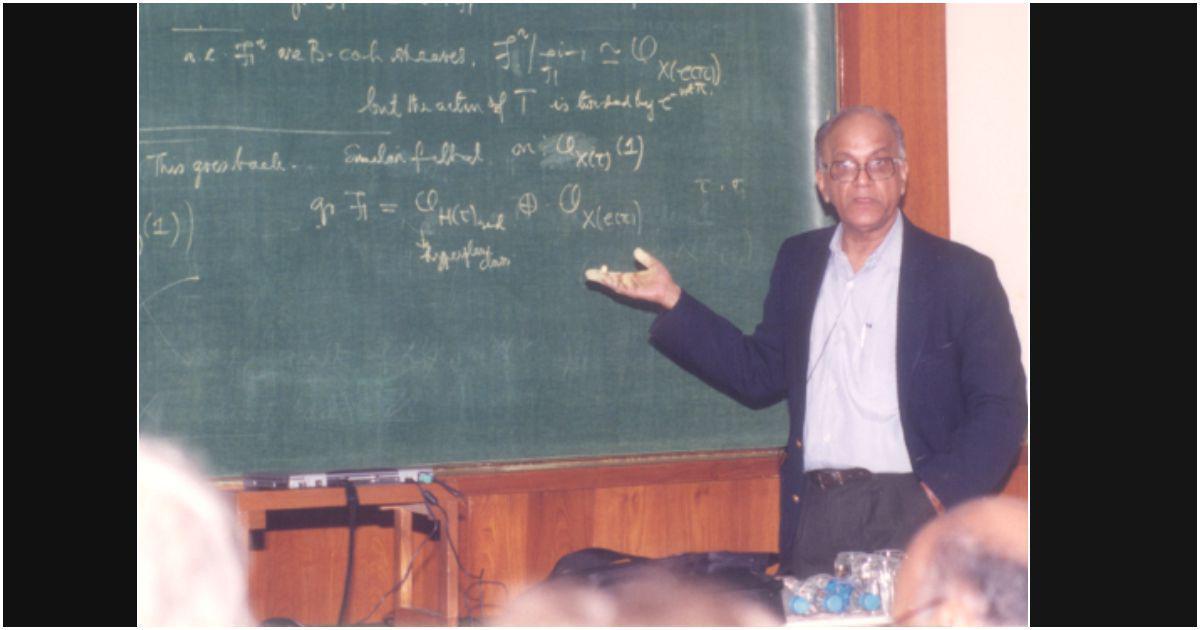 CS Seshadri (1932-2020): World-class algebraic geometer, institution-builder and music lover