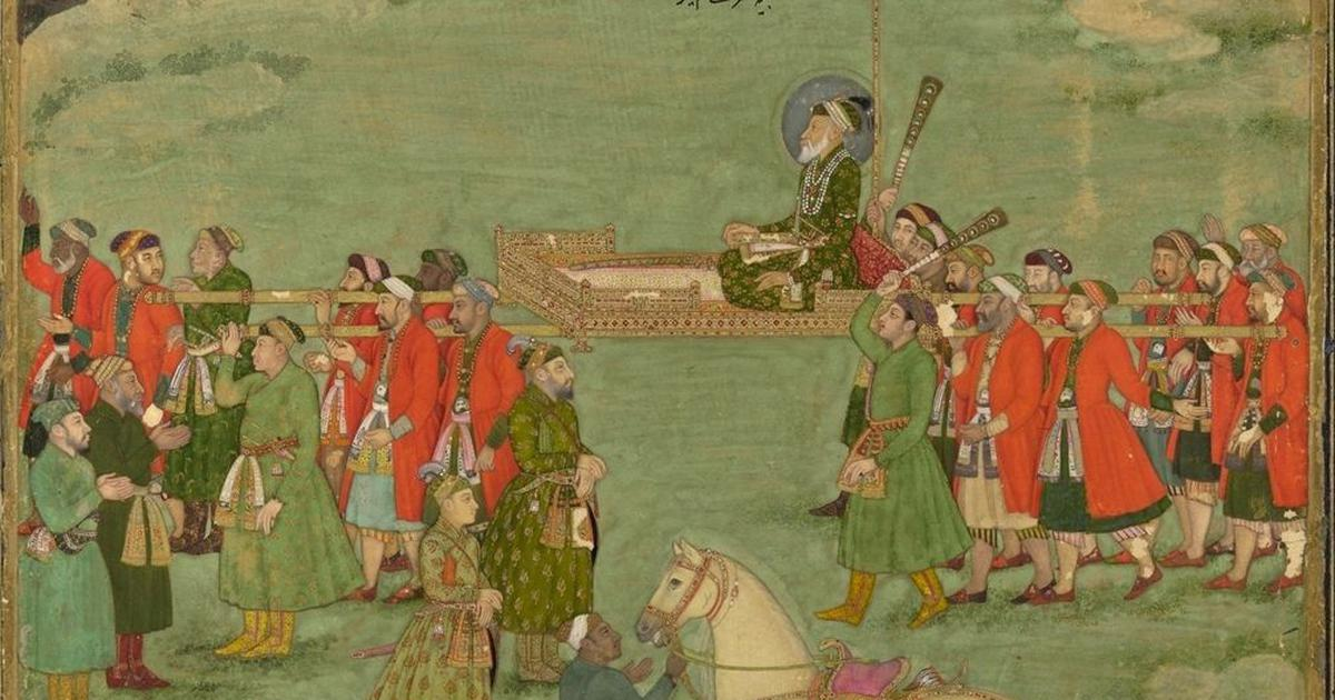 Notes scribbled in a 14th-century musical treatise trace Aurangzeb's journey from Delhi to Kashmir
